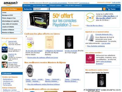 amazon site web