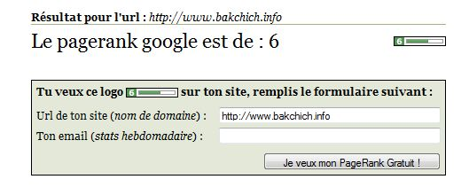 pagerank backchich