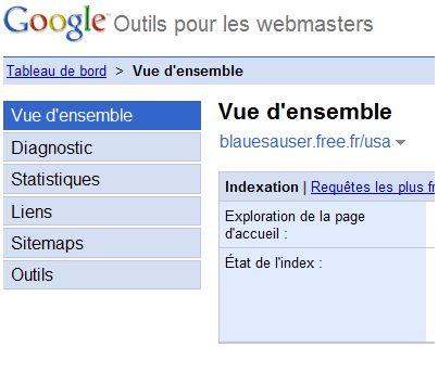 google webmaster tool