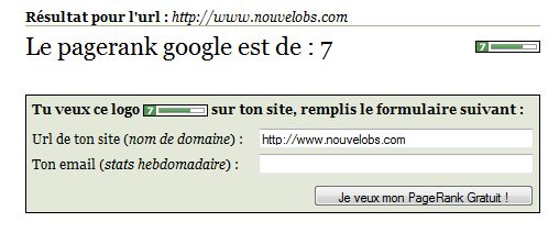 nouvelobs pagerank