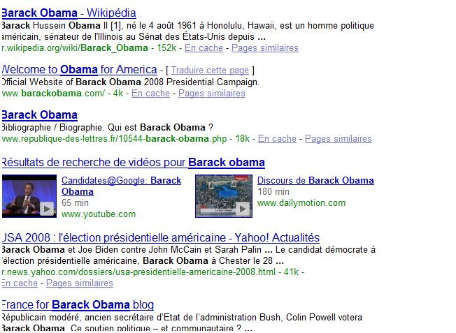ereputation obama barack