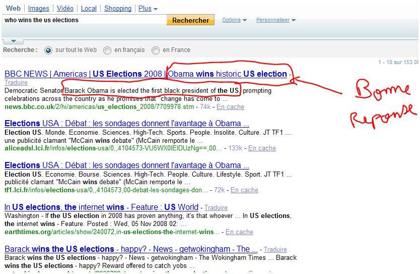 semantique web moteur de recherche yahoo