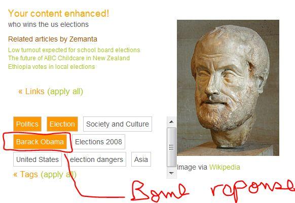 semantique web moteur de recherche zemanta