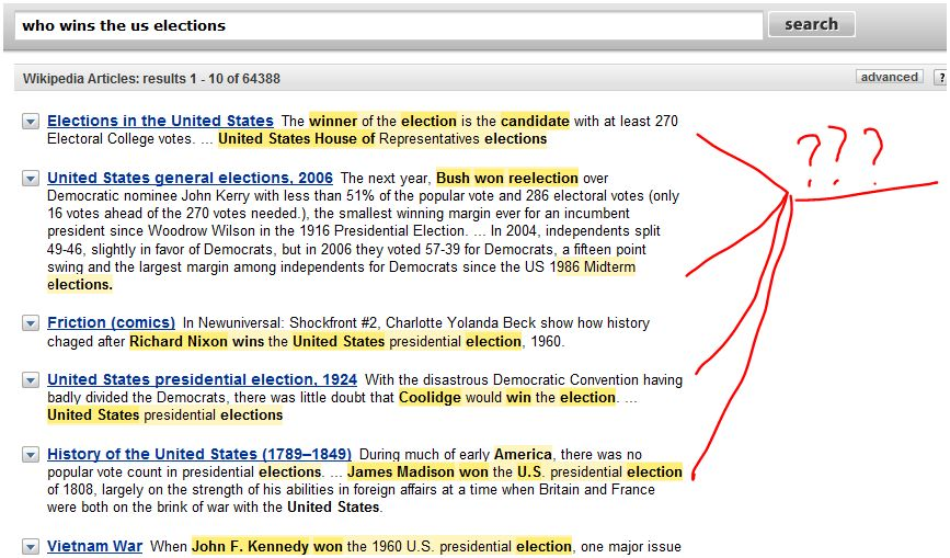 semantique web moteur de recherche powerset